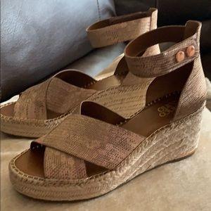 Franco Sarto wedge sandal.